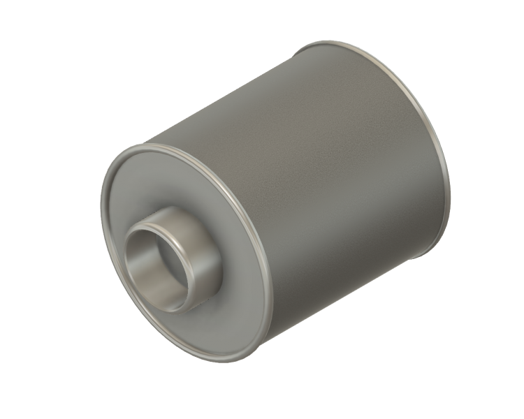 Stoffilter laag RVS aansluitdiam. 35 mm 35/80/90