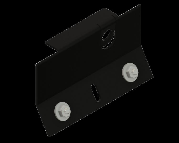 Montageplaat zwart AL-7