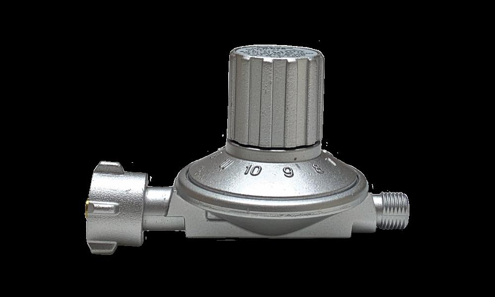 Variable pressure regulator 25-50mbr 1kg, shell x 1/4 '''L