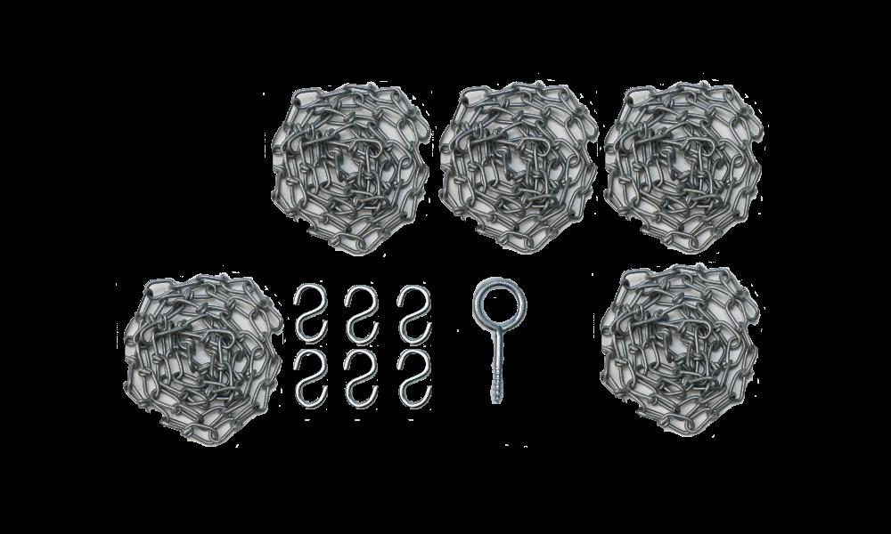 Alke PH6 chain set stainless steel