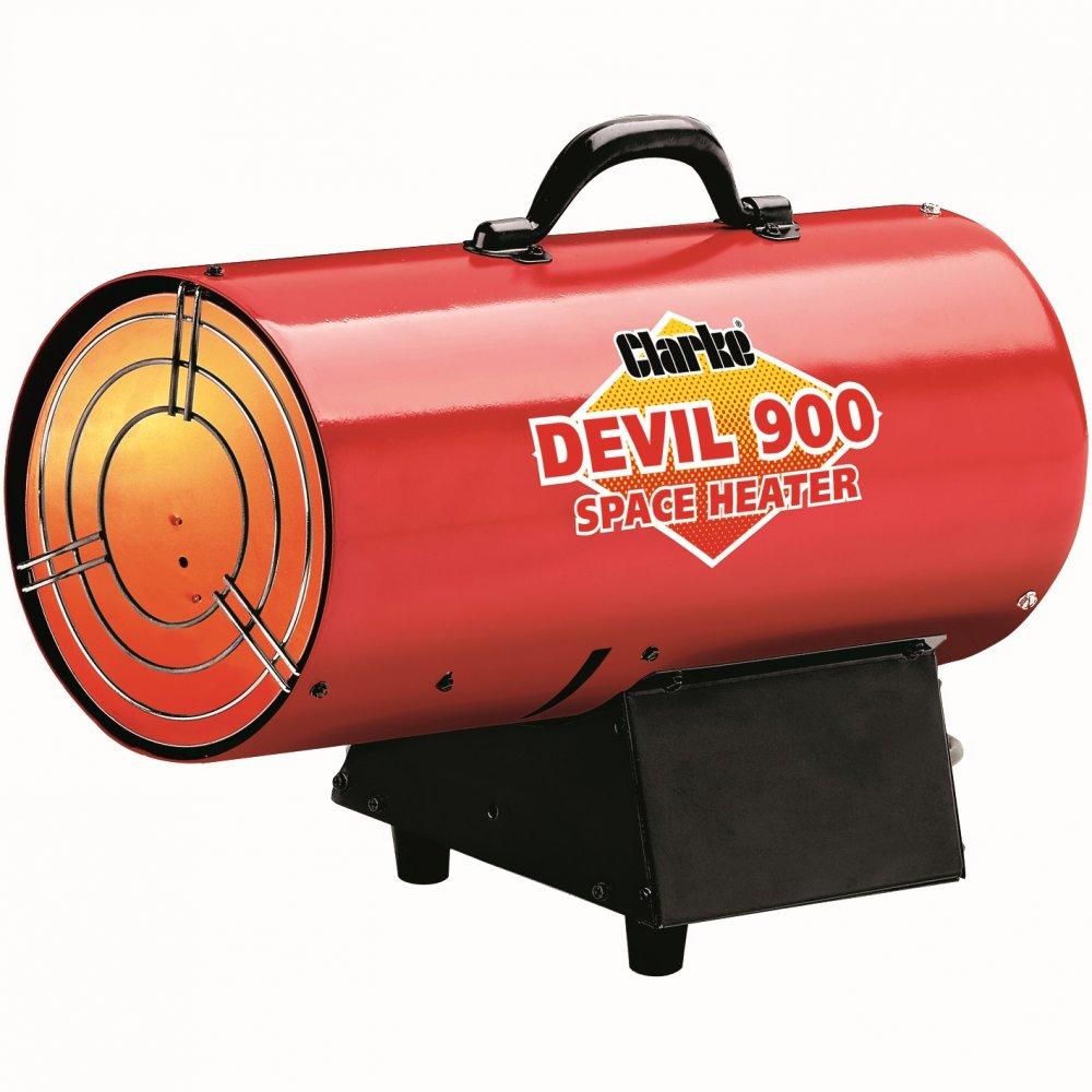 Clarke Devil 900 propaan heater