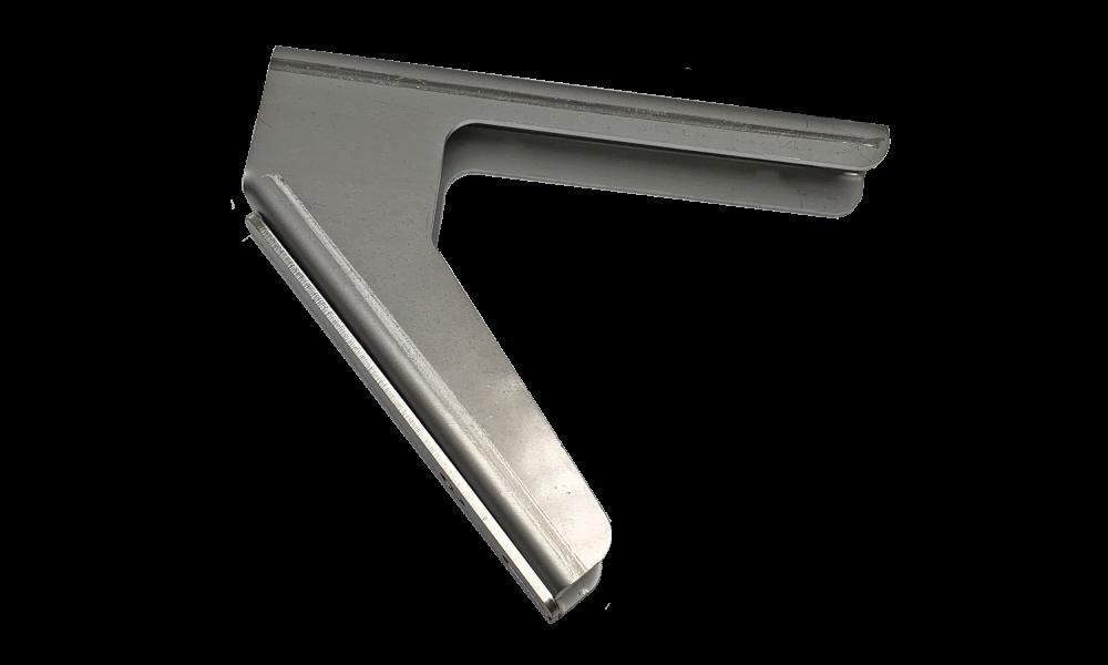 JLF bracket set type 121 45° wall/ceiling stainless steel