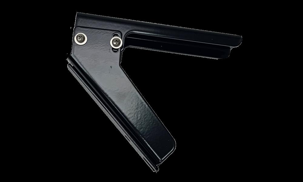 JLF beugelset type 121 35/45/55gr wand/plafond ZWART