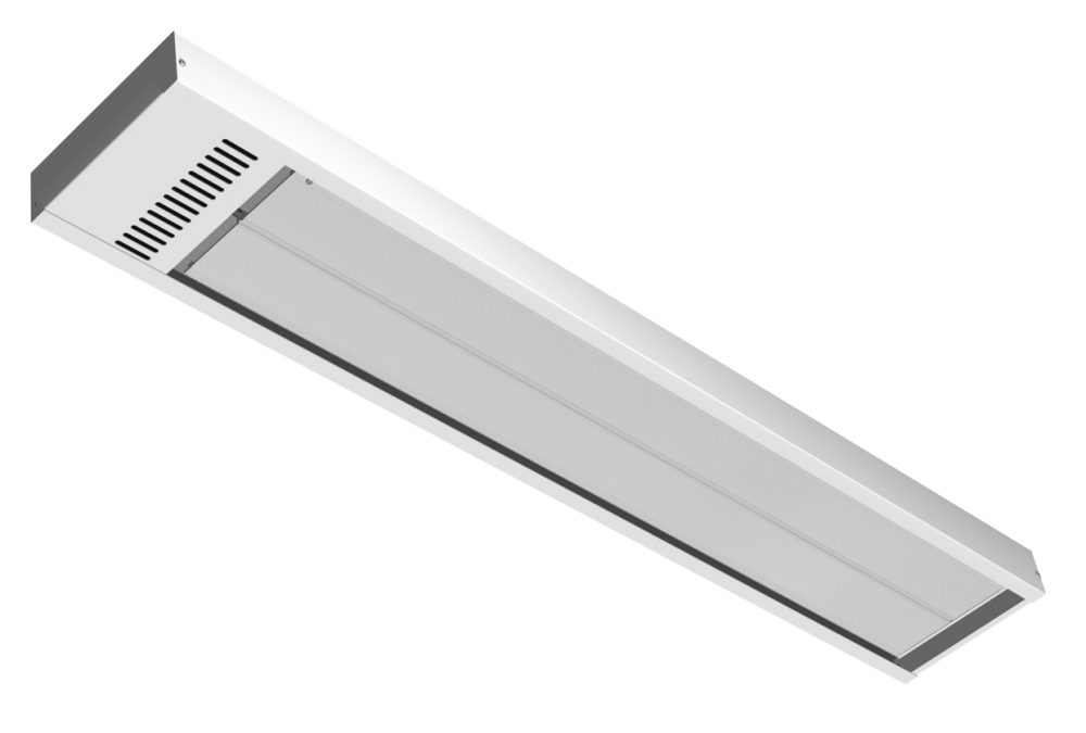 Energo Strip 1000 white RAL 9010 high temperature panel