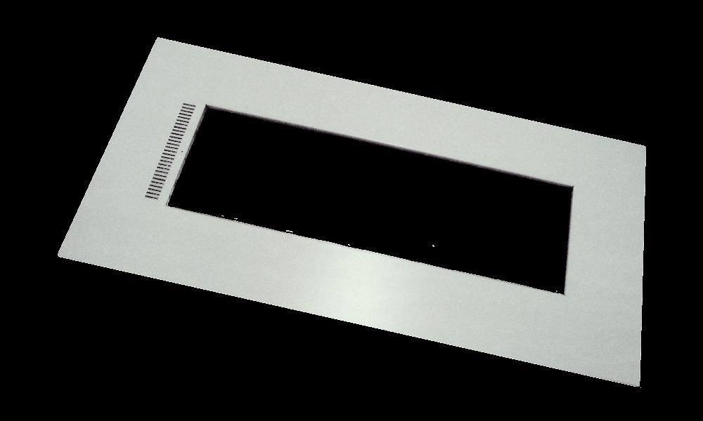 Energo Strip 1200 Kader wit RAL 9010, 1192 x 592mm