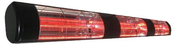 Victory HLW45B zwart RAL 9004 Goldlamp terrasstraler
