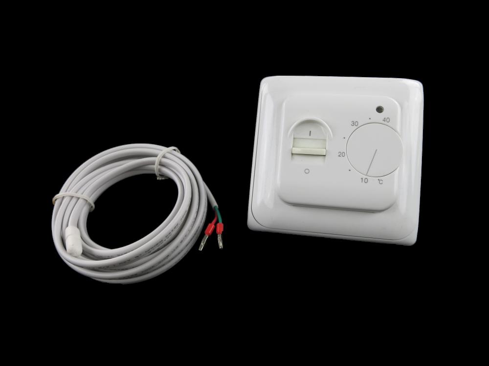 JLF 002 thermostaat, interne en/of externe voeler-instellen met jumpers