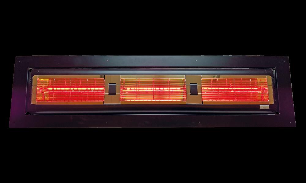 Tansun Monaco inbouw 4,5 KW black