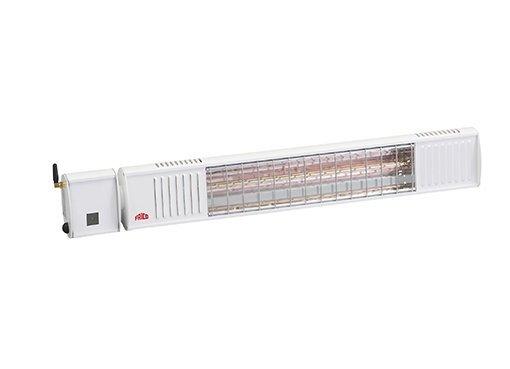 IHS20W67 Infraroodstraler 2000W 230V Bluetooth Afs.bedien. 710mm wit IP67