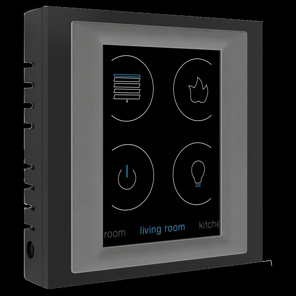 Elko EP RF Touch opbouw zwart/grijs
