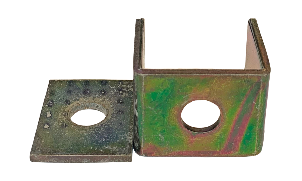 Alke bracket & bottom plate EID2G zincorlite